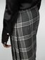 Marni Tulip skirt in chequered motif yarn-dyed wool Woman - 5