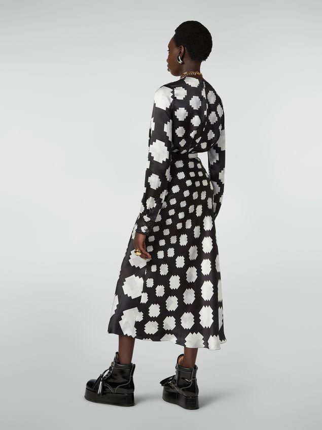 Marni Flared skirt in viscose Otti print Woman