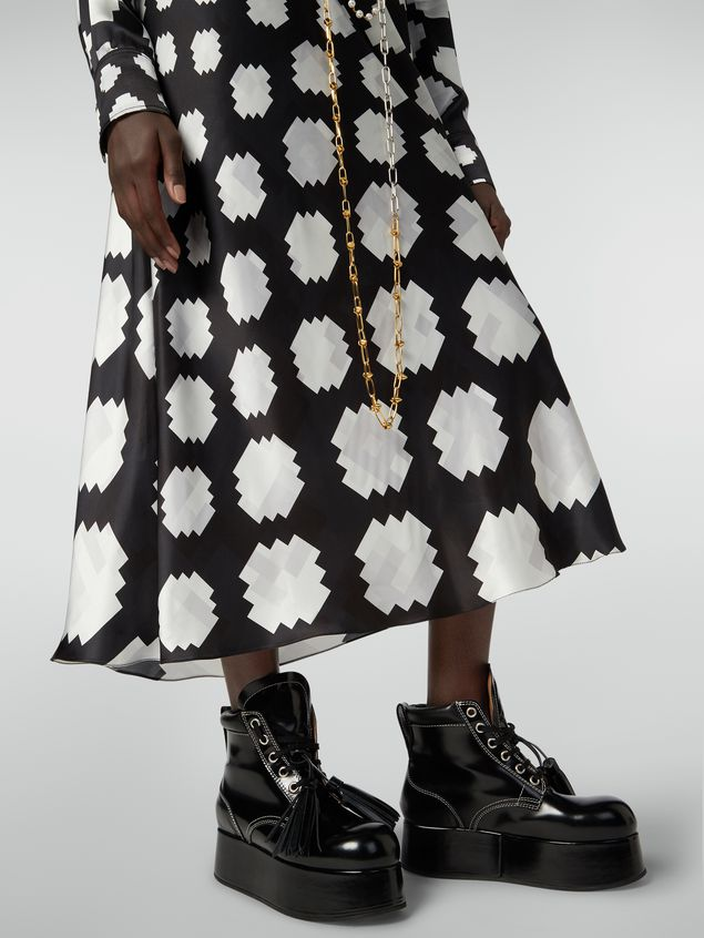 Marni Flared skirt in viscose Otti print Woman - 4