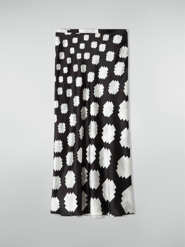 Marni Flared skirt in viscose Otti print Woman - 2