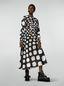 Marni Flared skirt in viscose Otti print Woman - 1