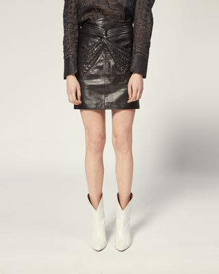 ISABEL MARANT SHORT SKIRT Woman CHAZ SKIRT r