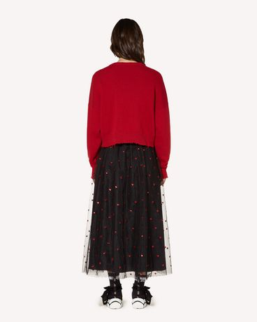 REDValentino SR3RA00J4CN 0NO Long and midi skirts Woman r