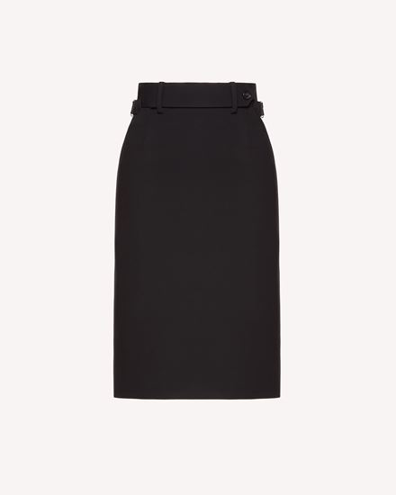 REDValentino Long and midi skirts Woman SR3RAB60WBP 0NO a