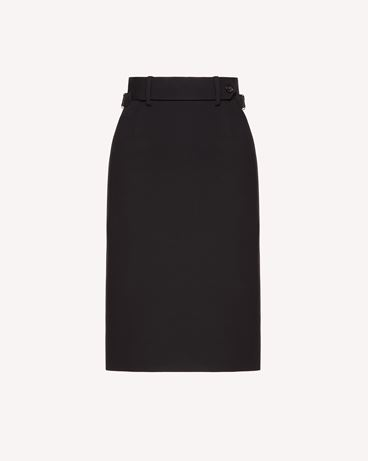 REDValentino SR3RAB60WBP 0NO Long and midi skirts Woman a