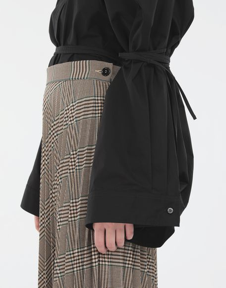 MM6 MAISON MARGIELA Checked pleated skirt Skirt Woman a