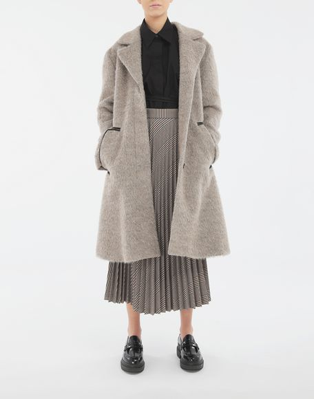 MM6 MAISON MARGIELA Checked pleated skirt Skirt Woman d