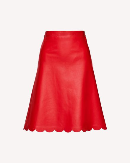 REDValentino Long and midi skirts Woman SR3NI00F4BL D05 a