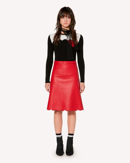 REDValentino Long and midi skirts Woman SR3NI00F4BL D05 f