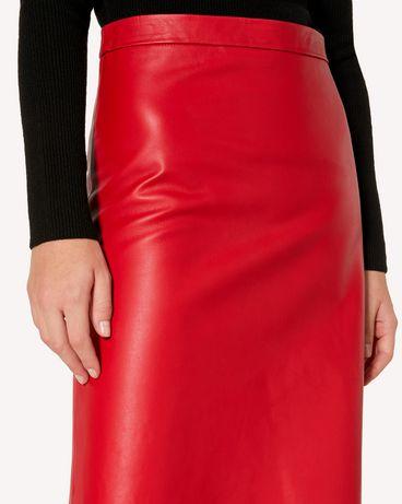 REDValentino SR3NI00F4BL D05 Midi Skirt Woman e