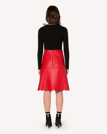 REDValentino SR3NI00F4BL D05 Midi Skirt Woman r
