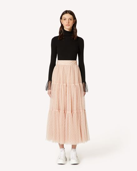 REDValentino Long and midi skirts Woman SR3RAC20428 N17 f
