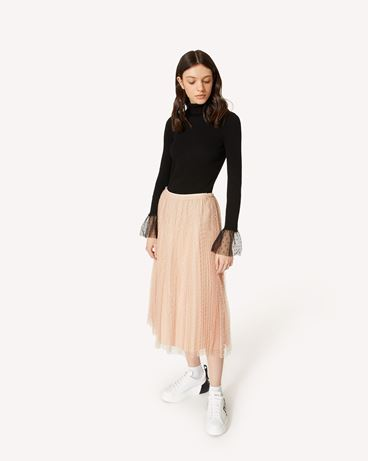 REDValentino SR3RAC20428 N17 Long and midi skirts Woman d