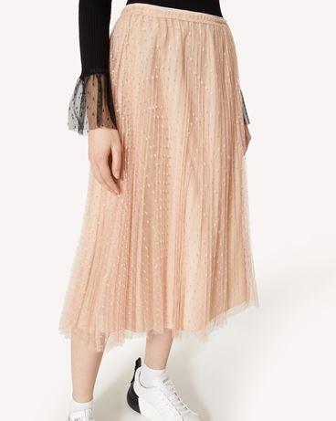 REDValentino SR3RAC20428 N17 Midi Skirt Woman e