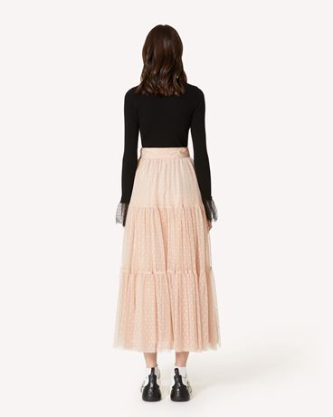 REDValentino SR3RAC20428 N17 Long and midi skirts Woman r
