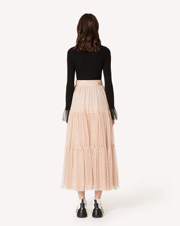 REDValentino SR3RAC20428 N17 Midi Skirt Woman r