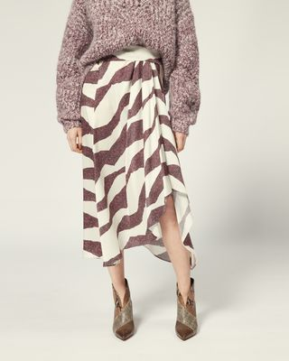 ISABEL MARANT LONG SKIRT Woman REBECA SKIRT r