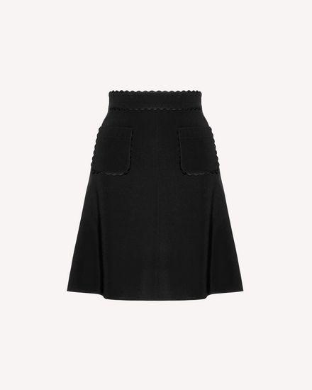 REDValentino Long and midi skirts Woman SR3RAC352EU 0NO a