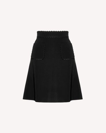 REDValentino SR3RAC352EU 0NO Long and midi skirts Woman a