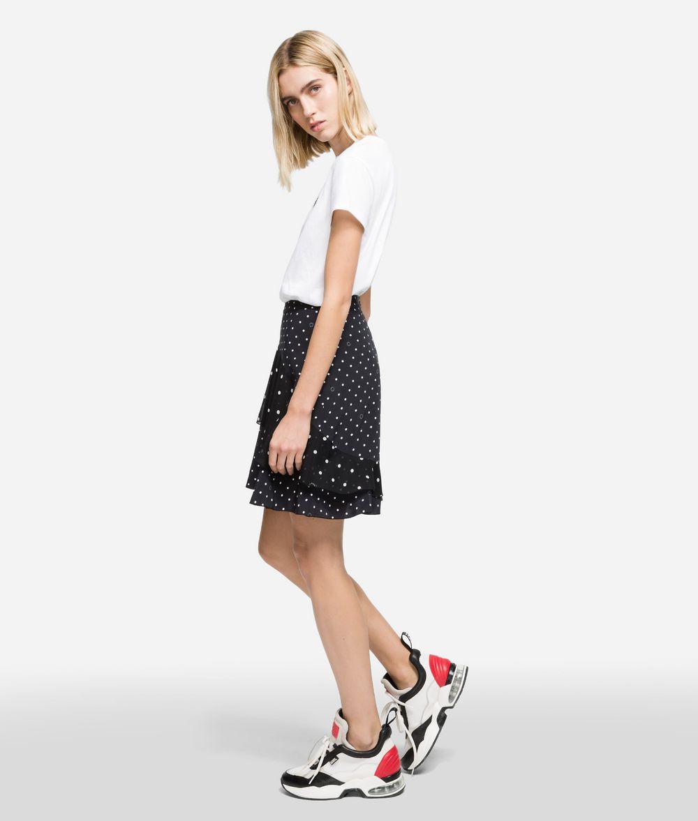 KARL LAGERFELD K/Dots Midi Skirt Skirt Woman d