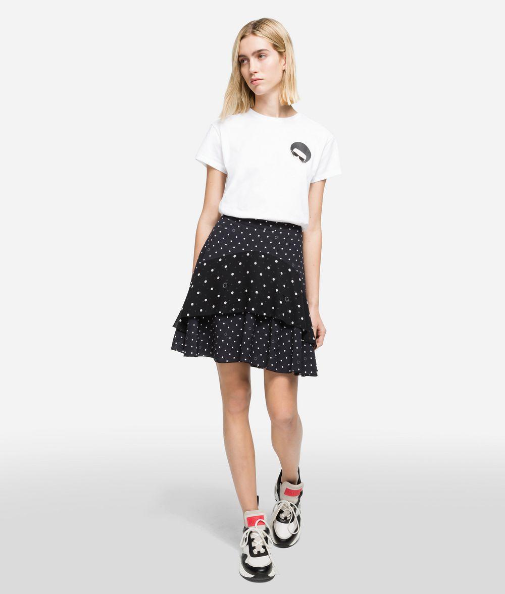 KARL LAGERFELD K/Dots Midi Skirt Skirt Woman f
