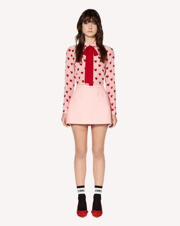 REDValentino Wool and cashmere mini skirt