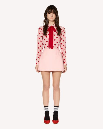 REDValentino Mini skirt Woman SR3RAC25497 517 f