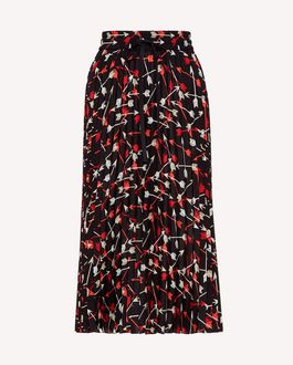REDValentino Long and midi skirts Woman SR0RA360428 0NO a