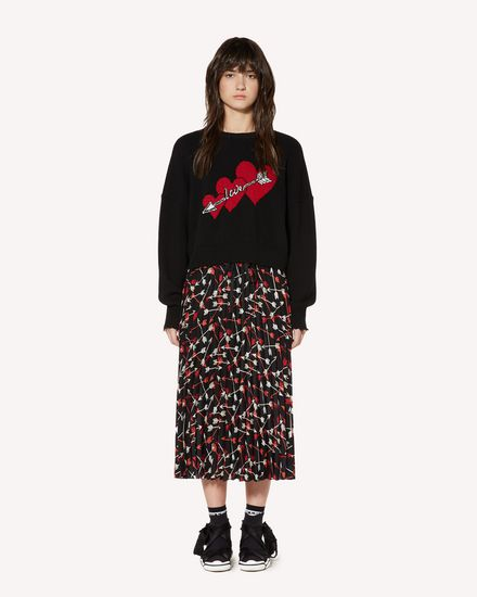 REDValentino Long and midi skirts Woman SR3RAB8549S 0NO f