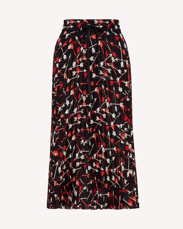 REDValentino SR3RAB8549S 0NO Long and midi skirts Woman a