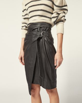 ISABEL MARANT ÉTOILE SHORT SKIRT Woman AYENI SKIRT r