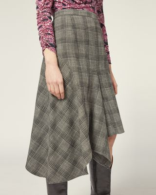 ISABEL MARANT MIDI SKIRT Woman DIESTY SKIRT r