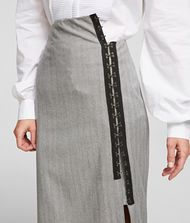 KARL LAGERFELD Hook & Eye Pencil Skirt 9_f