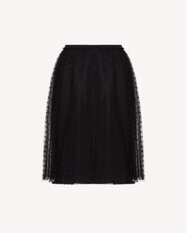 REDValentino Long skirt Woman SR3RA00J4CN 0NO a