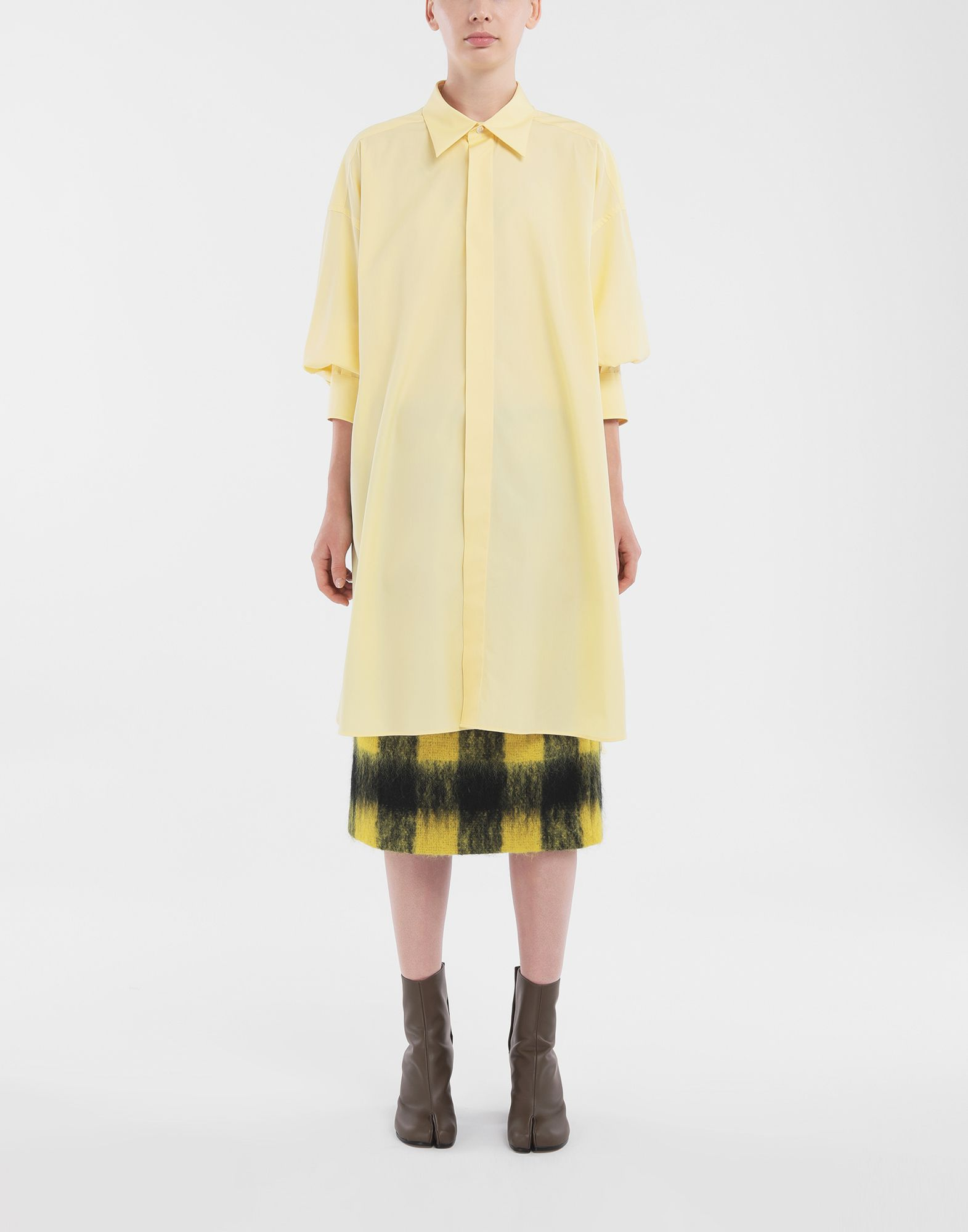 MAISON MARGIELA Mohair check skirt Skirt Woman d