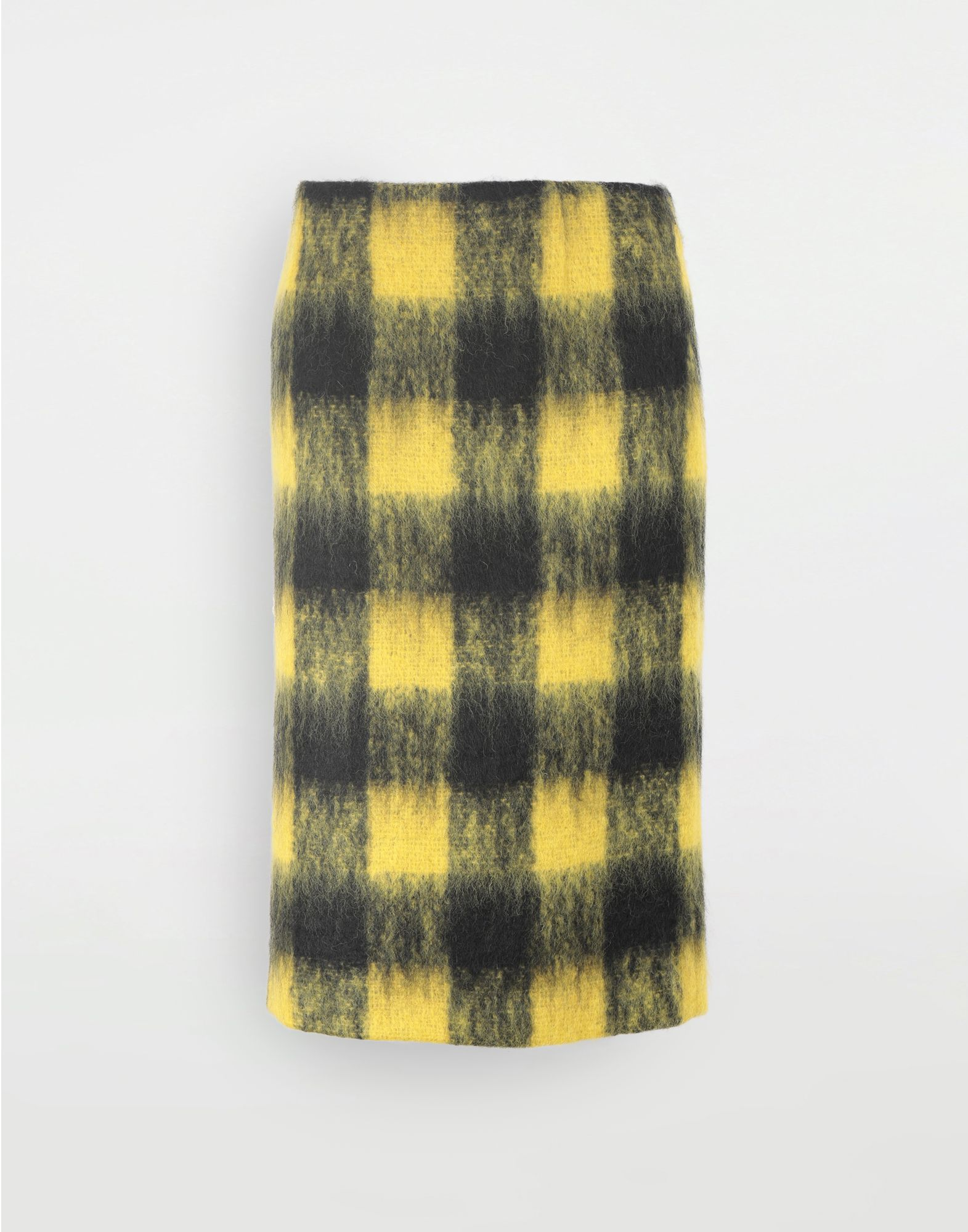 MAISON MARGIELA Mohair check skirt Skirt Woman f