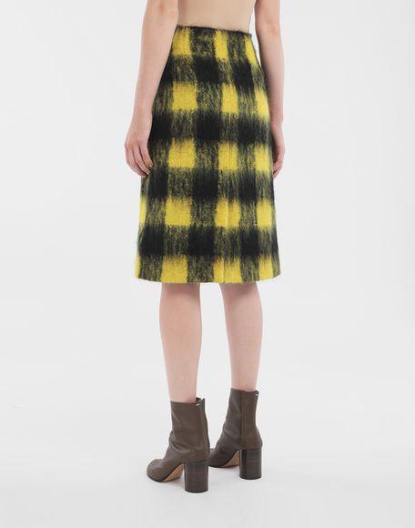 MAISON MARGIELA Mohair check skirt Skirt Woman e
