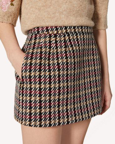 REDValentino SR0RAC254HH L58 Mini skirt Woman e