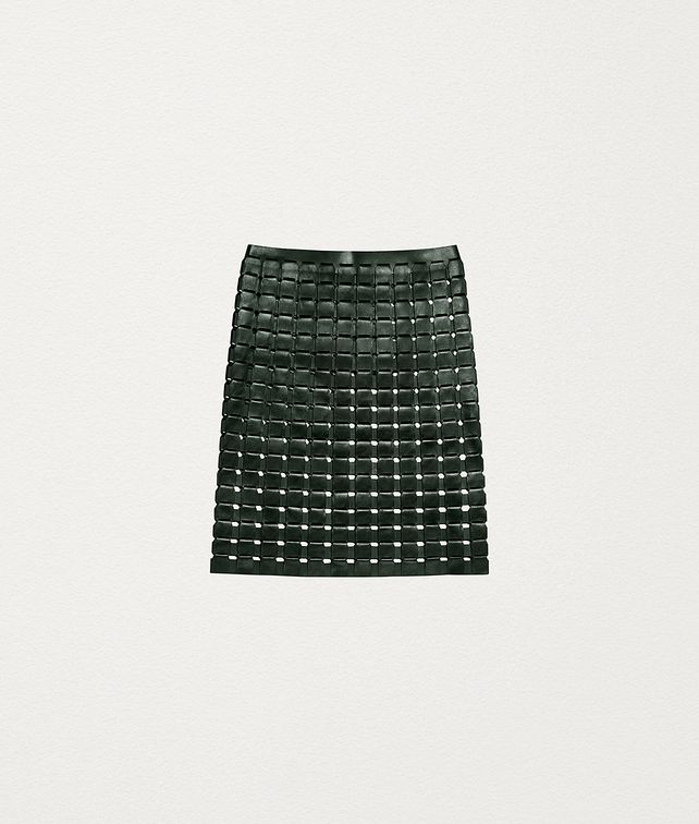 BOTTEGA VENETA SKIRT IN NAPPA Skirt Woman fp