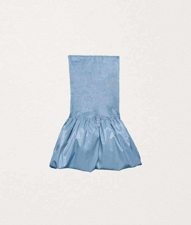 BOTTEGA VENETA SKIRT IN SHINY CELLOPHANE Skirt Woman fp