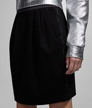 KARL LAGERFELD Logo Ponte Skirt 9_f