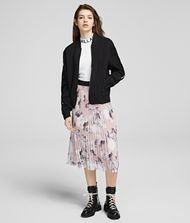 KARL LAGERFELD Orchid Print Maxi Skirt Skirt Woman a