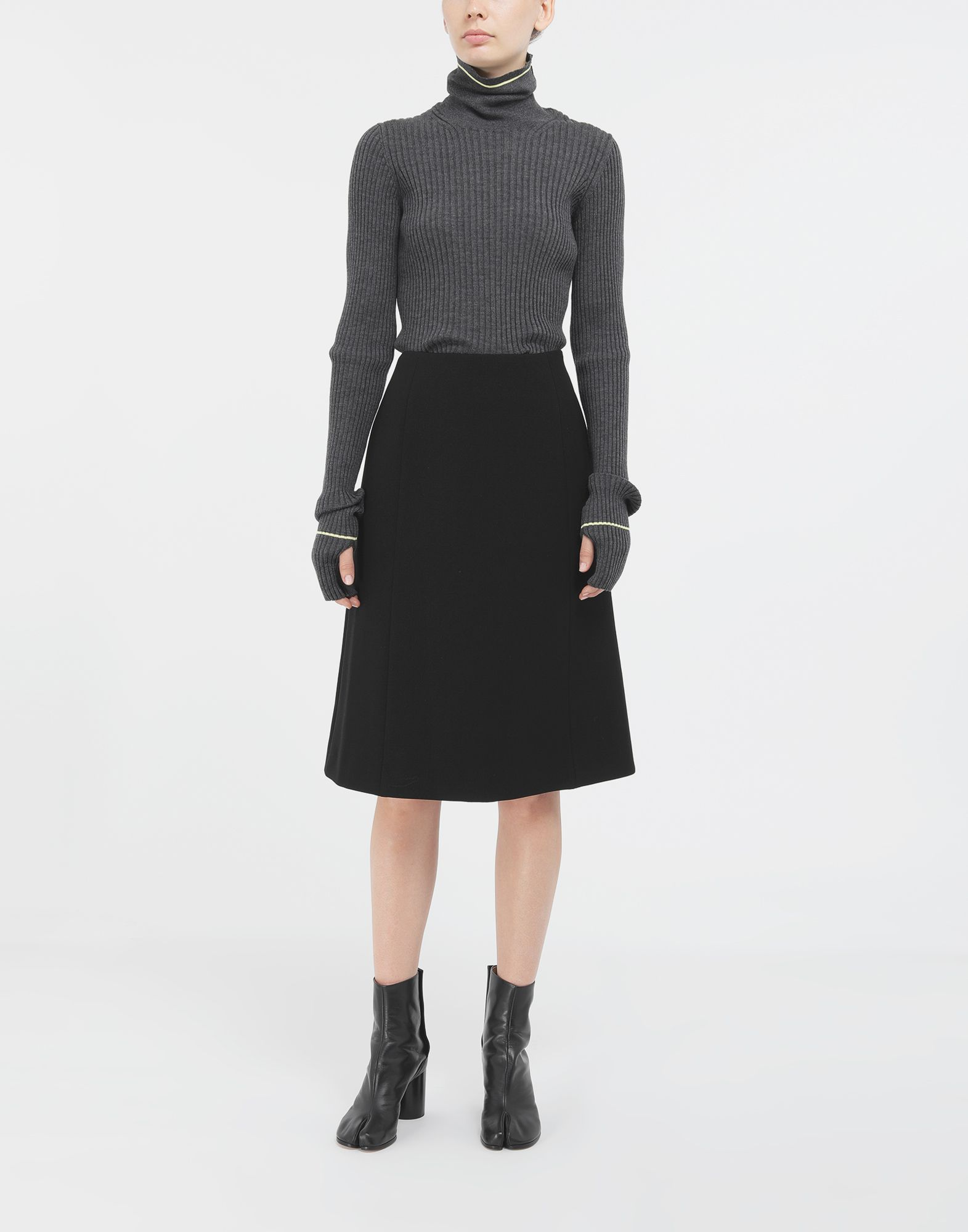 MAISON MARGIELA A-line skirt 3/4 length skirt Woman d