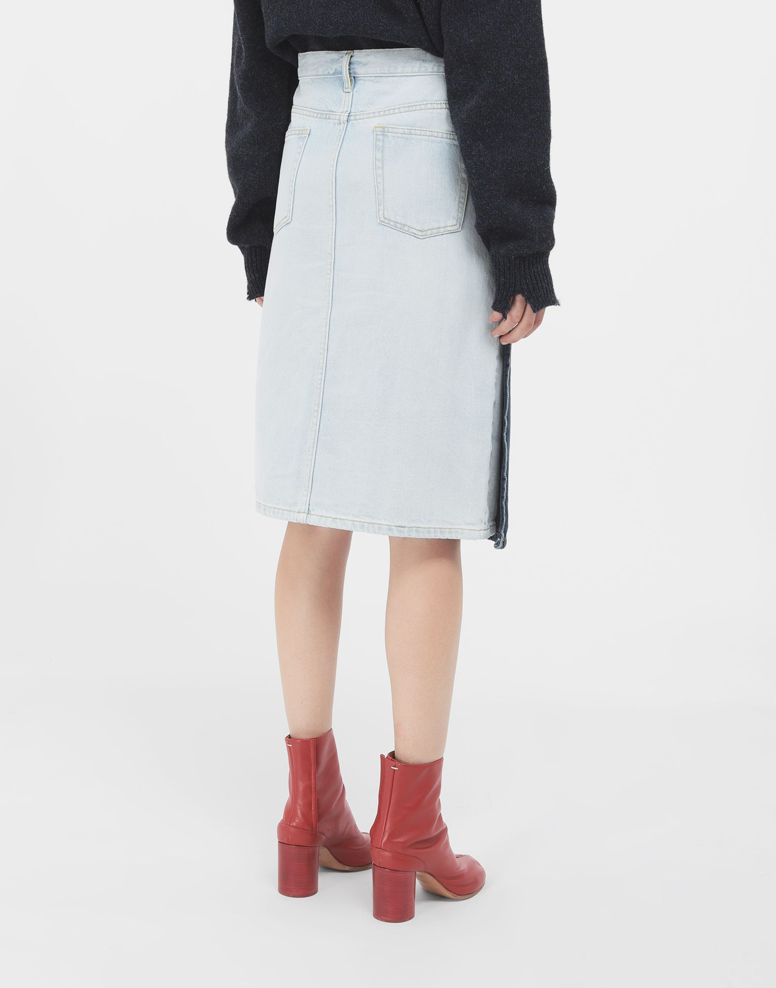 MAISON MARGIELA Spliced skirt 3/4 length skirt Woman e