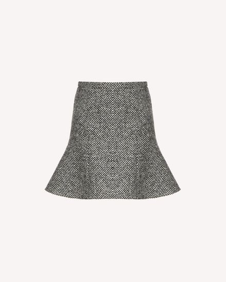 REDValentino Mini skirt Woman SR0RAC6541B 0NO a