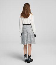 KARL LAGERFELD Bouclé Skirt 9_f
