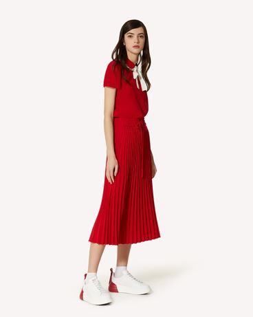 REDValentino SR0RAB852QL L58 Midi Skirt Woman d