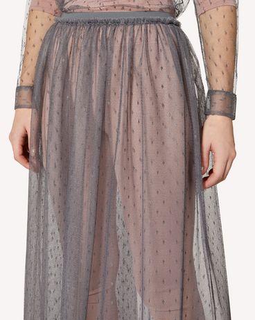REDValentino SR0RA3801GK 080 Midi skirt Woman e
