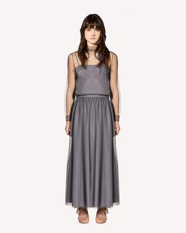 REDValentino SR0RA3801GK 080 Midi skirt Woman f