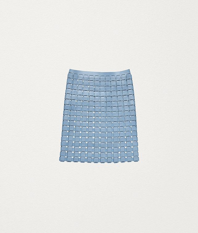 BOTTEGA VENETA SKIRT IN POLISHED CALFSKIN Skirt Woman fp